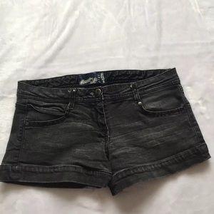 Bershka Women's Denim Mini Shorts